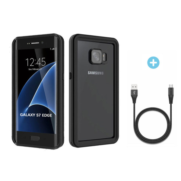 cheap for discount 44ef8 0b471 Waterproof Case for Galaxy S7 Edge – Verhux Underwater Full Body ...